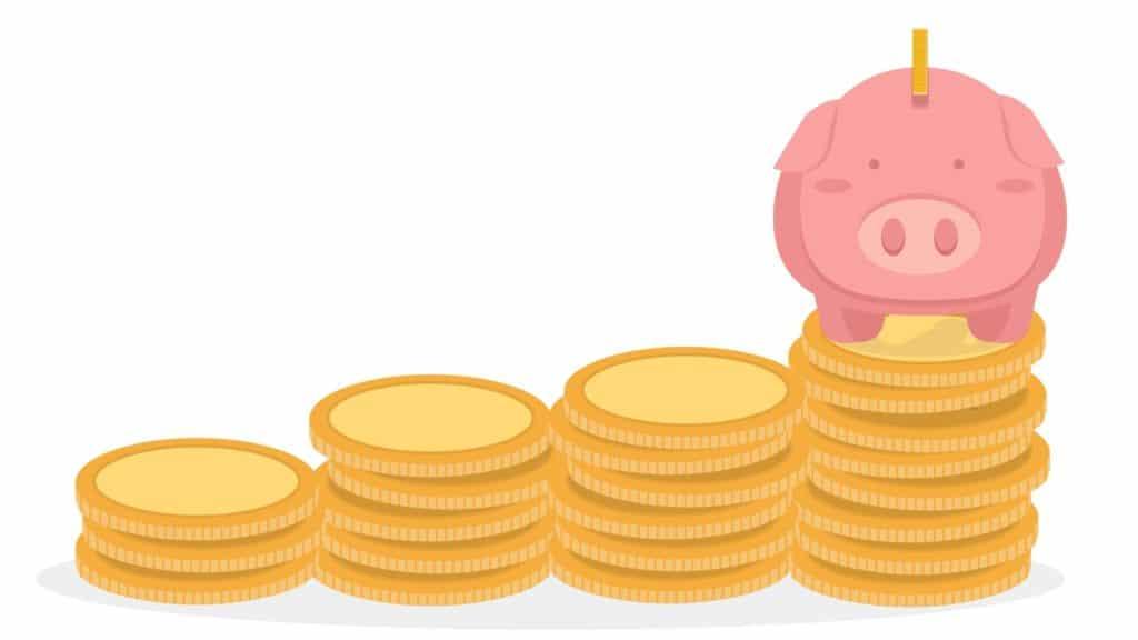 Geld sparen Sparrate